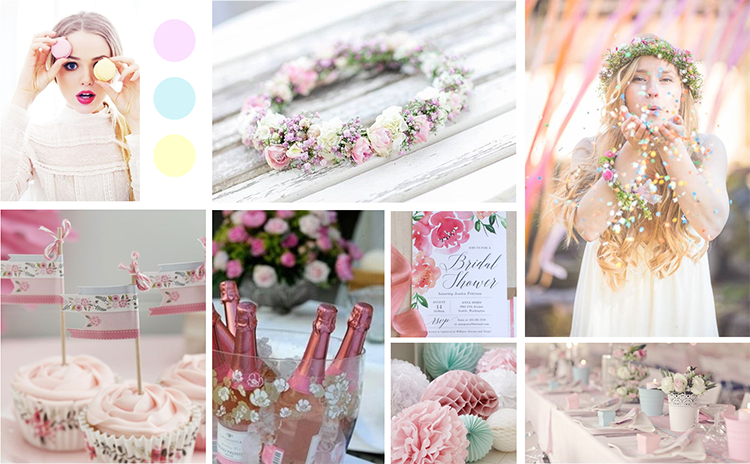 Moodboard Bridal Shower